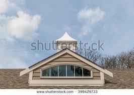 Dormer Roof Design Dormer Window Isolated Rooftop Window Arch Stock Photo 399429733