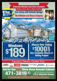 Free Window Replacement Estimate by Home Colorado Window And Door Company