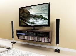 tv mount with shelves design creative tv shelf u2014 derektime design