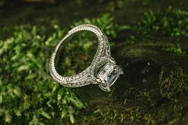 metal stone rings images The 10 best accent stone engagement rings the plunge jpg