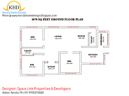 Kerala House Single Floor Plans With Elevations September 2011 Kerala Home Design And Floor Plans