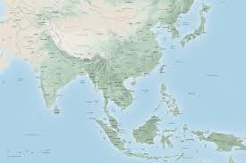 Harvard Map Asia Center Map Of Asia Harvard University Asia Center