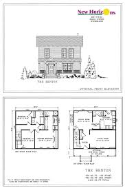 model homes floor plans marion il new horizons homes inc elevations floor plan