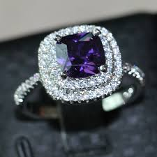 amethyst diamond engagement ring search on aliexpress com by image