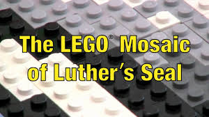 luther s the lego mosaic of luther s seal
