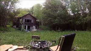 Building A Small Cabin In The Woods by Exploring An Abandoned Log Cabin In The Woods Youtube