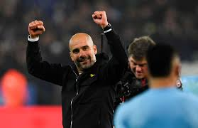 pep guardiola celebrated in epic style after leicester shootout