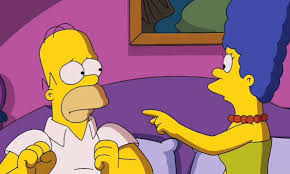 Homer The Pool Arts U0026 Culture Marge And Homer Legally Separate