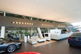 audi dealership exterior audi u0027s largest north american terminal mixte magazine