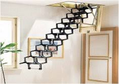 awesome drop down staircase image of drop down stairs home design