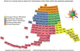 Alaska Records Search Publications Quadrangle Search Alaska Division Of Geological