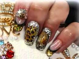 nails decorated with stones learn how to decorate your nails with