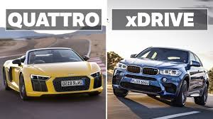 audi quattro all wheel drive bmw xdrive vs audi quattro which awd system is the best