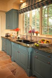 Teal Kitchen Cabinets 61 Best Colored Kitchen Cabinets Images On Pinterest Home Dream