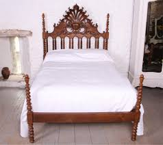 Colonial Style Bedroom Furniture Uk Only Colonial Style Solid Oak No End Double Bed 412853