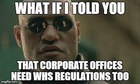 Health And Safety Meme - workplace health and safety in corporate offices myths debunked