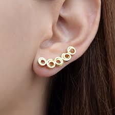 ear clasp set of 2 ear cuffs ear cuff ear cuff clip cuff non