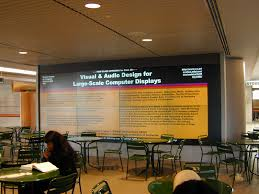 index installing frist digital wall first images display wall design class logo