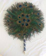 peacock feather fan peacock feather fan ebay