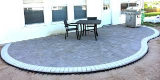 Cutting Patio Pavers How To Cut Patio Pavers Without A Saw Cutting Paver Stones