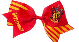 cool hair bows gryffindor cheer hair bow cool harry potter stuff
