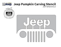 jeep cj grill logo all things jeep jeep pumpkin carving templates