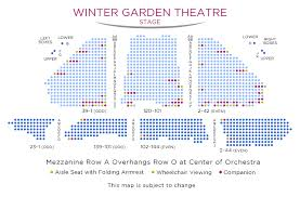 The Winter Garden Theater - of rock tickets access information broadway new york