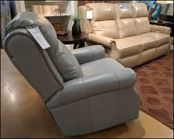 Grey Leather Recliner Comfort Design Jamestown Recliner Clp762 Leather Furniture Usa