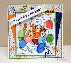 Birthday Card Ai 210 Best Art Impressions Ai Images On Pinterest 30 August Art