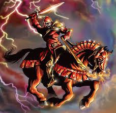 the horsemen of revelation the red horse of war united church