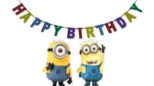 minion happy birthday card u2013 gangcraft net