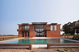 brick holiday house incorporates 2 cultures