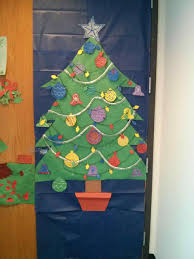 kindergarten diy christmas classroom door decorations decoration
