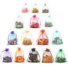 halulu organza jewelry pouch bags display drawstring wedding