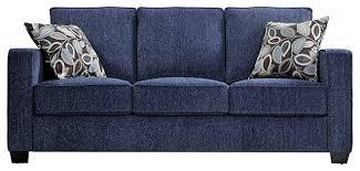Modern Blue Sofa Modern Style Blue Sofa Pillows With
