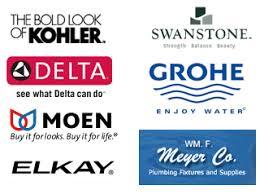 kitchen faucet brand logos pearl design plumbing