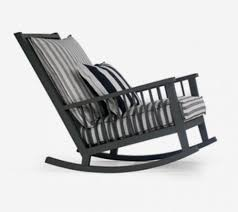 Gray Rocking Chair Fesal Com Gervasoni Gray 09 Rocking Chair Italian Design World