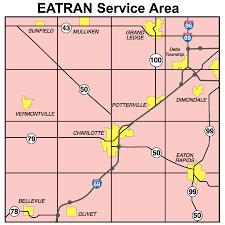 Map Of Lansing Michigan by Main
