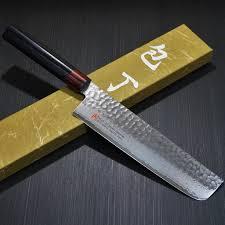 seto hammered 33 layers nickel damascus vg10 nakiri knife 180mm i