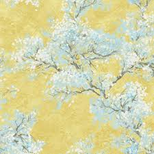 cherry blossom wallpaper from french impressionist by seabrook