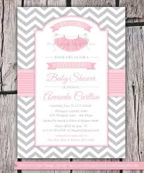 baby shower invitations surprising tutu baby shower invitation