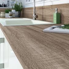 plan de travail cuisine stratifié leroy merlin plan de travail stratifié effet chêne havane mat l 315 x p 65 cm