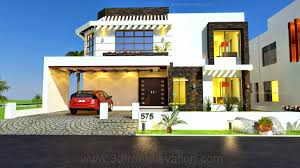 Contemporary Home Designs And Floor Plans by 1 Kanal House Drawing Floor Plans Layout House Design Plot In
