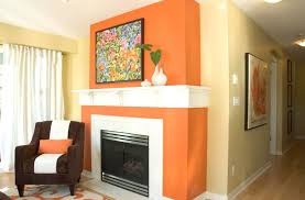 Curtain Color For Orange Walls Inspiration What Color Curtains With Orange Walls My Web Value