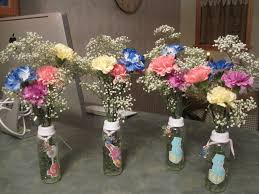 baby bottle centerpieces baby bottle centerpieces for baby shower so cuter