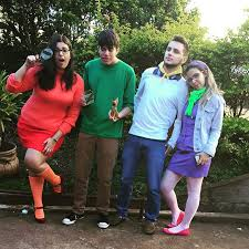 Daphne Halloween Costumes Diy Scooby Doo Velma Shaggy Fred Daphne Halloween Group Costume