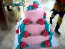 pink and turquoise blue wedding cake flv youtube