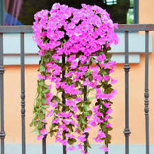 Silk Flower Plants - wall hanging plants picture more detailed picture about