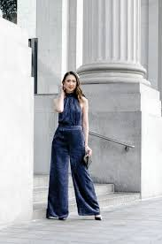 blue velvet jumpsuit blue velvet jumpsuit closet luxe