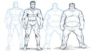 how to draw overweight characters by robertmarzullo on deviantart